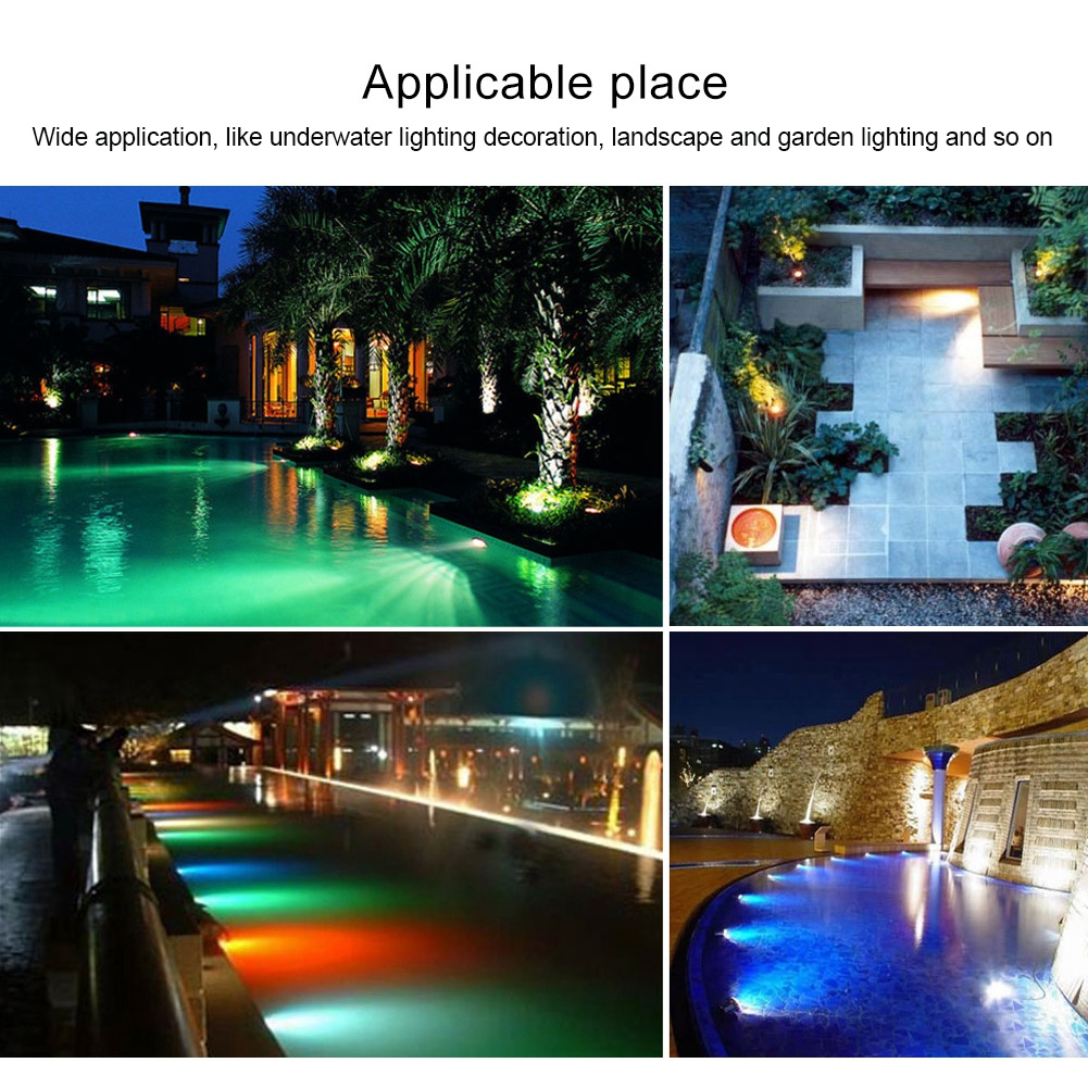 thumbnail 53 - Swimming Pool Wall Light Colorful Remote Control Underwater Lights AC 12V 18-45W
