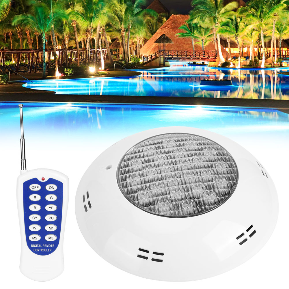 thumbnail 95 - Swimming Pool Wall Light Colorful Remote Control Underwater Lights AC 12V 18-45W