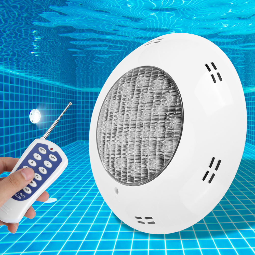 thumbnail 91 - Swimming Pool Wall Light Colorful Remote Control Underwater Lights AC 12V 18-45W