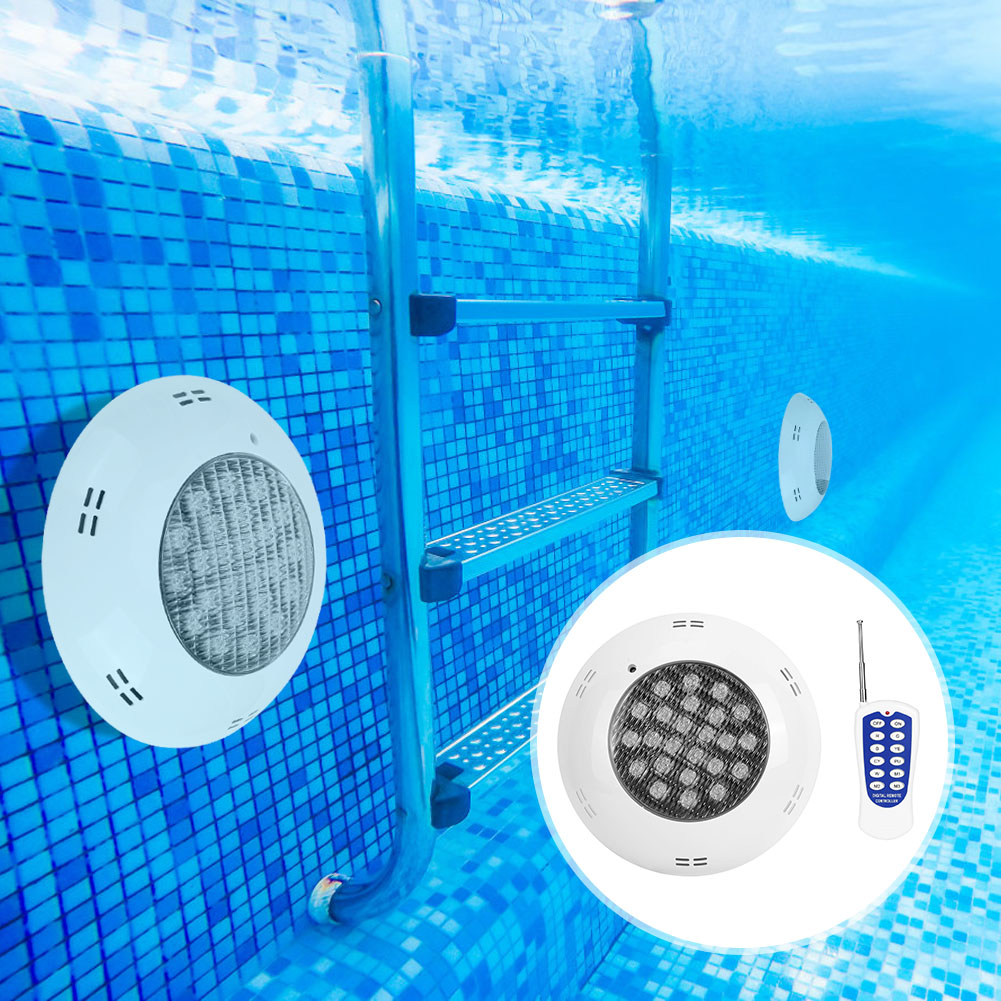 thumbnail 94 - Swimming Pool Wall Light Colorful Remote Control Underwater Lights AC 12V 18-45W