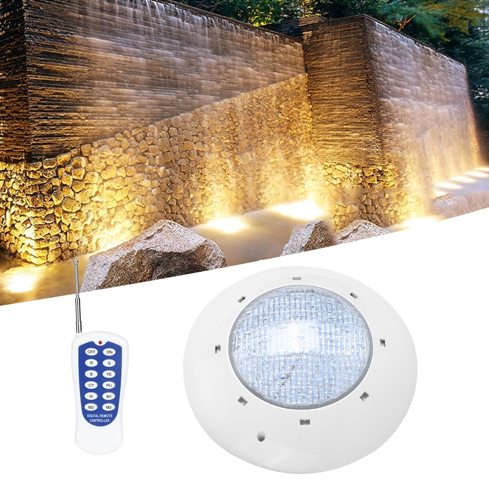 thumbnail 102 - Swimming Pool Wall Light Colorful Remote Control Underwater Lights AC 12V 18-45W