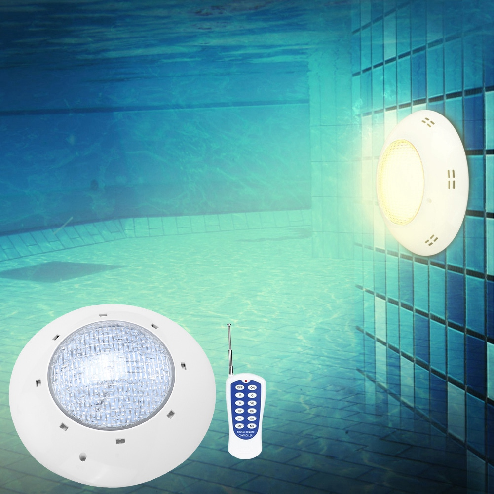 thumbnail 103 - Swimming Pool Wall Light Colorful Remote Control Underwater Lights AC 12V 18-45W