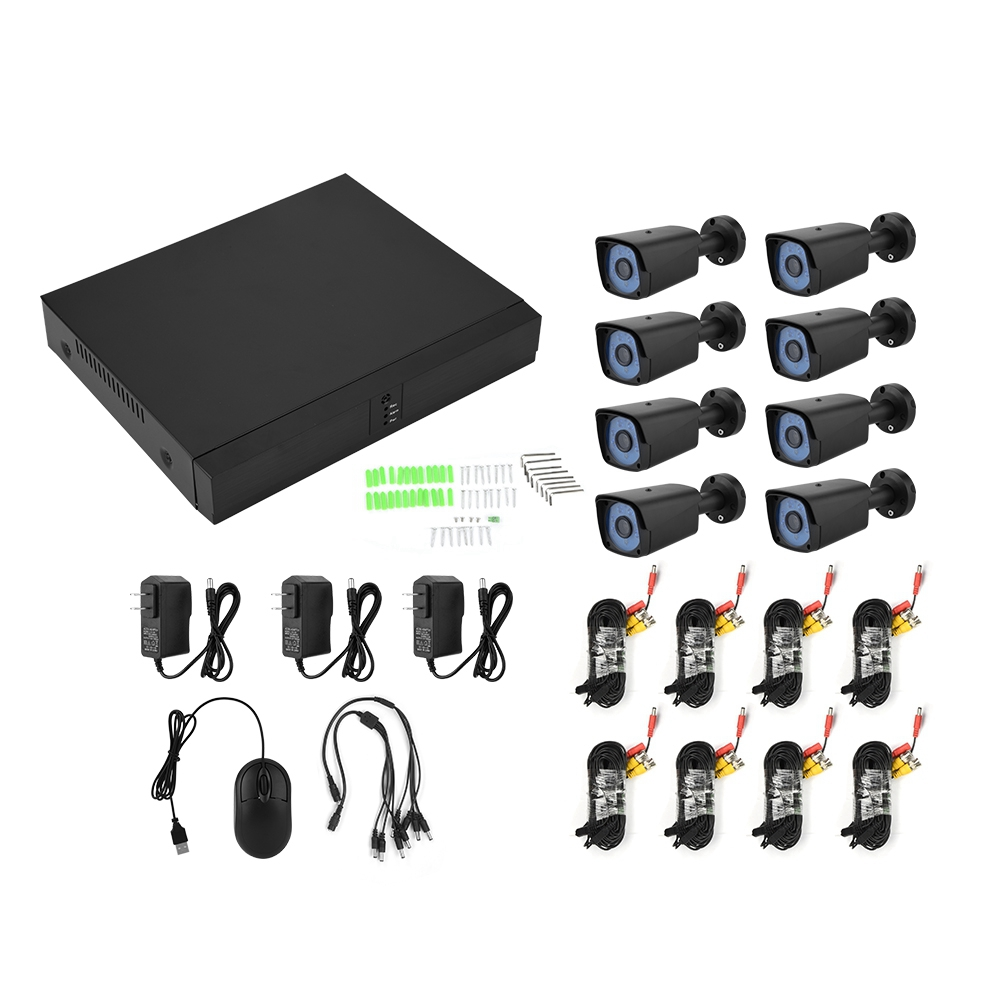 8x-8CH-AHD-DVR-CCTV-IR-Cut-Security-IR-Camera-System-Home-Outdoor-Surveillance miniature 14