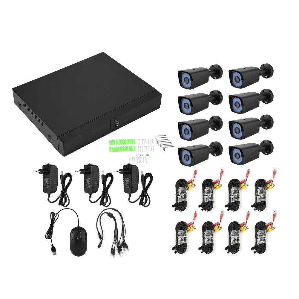 8ch Ahd 1080p Hdmi Cctv Camera Security System Outdoor