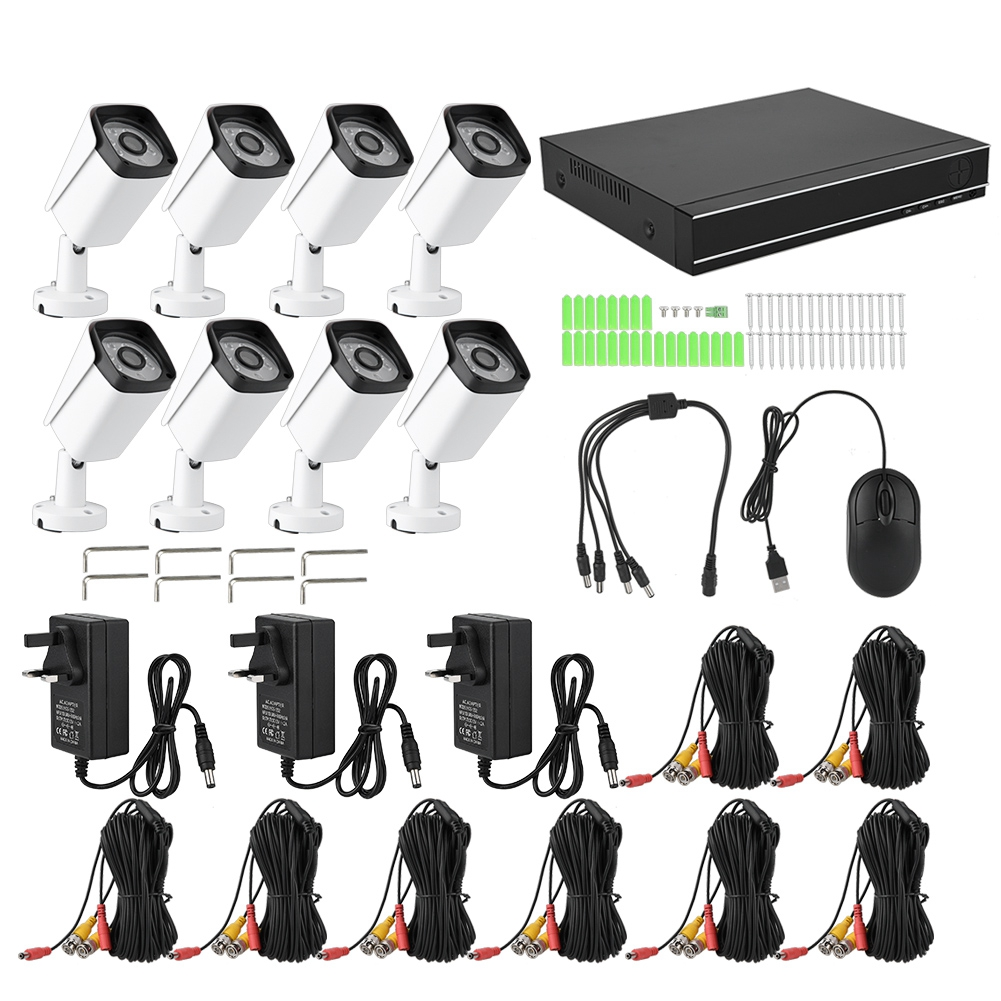 8CH-HDMI-CCTV-DVR-Camera-Security-HD-System-1080P-Home-Outdoor-Video-IR-Cam-CO thumbnail 26