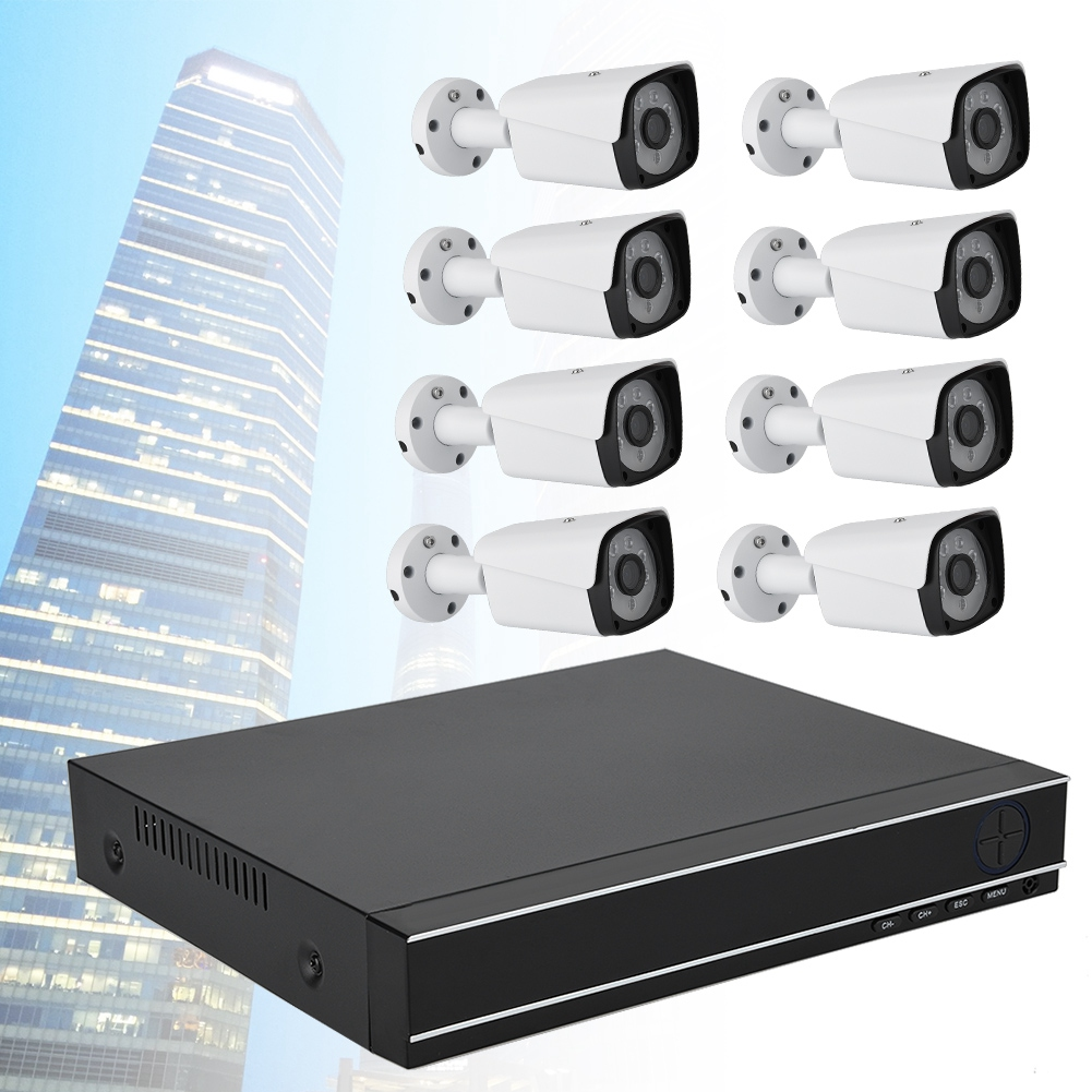 8CH-HDMI-CCTV-DVR-Camera-Security-HD-System-1080P-Home-Outdoor-Video-IR-Cam-CO thumbnail 30