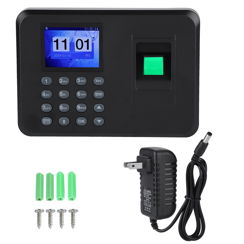 Time-Recorder-Clocking-In-Machine-Attendance-Check-Fingerprint-Password-USB