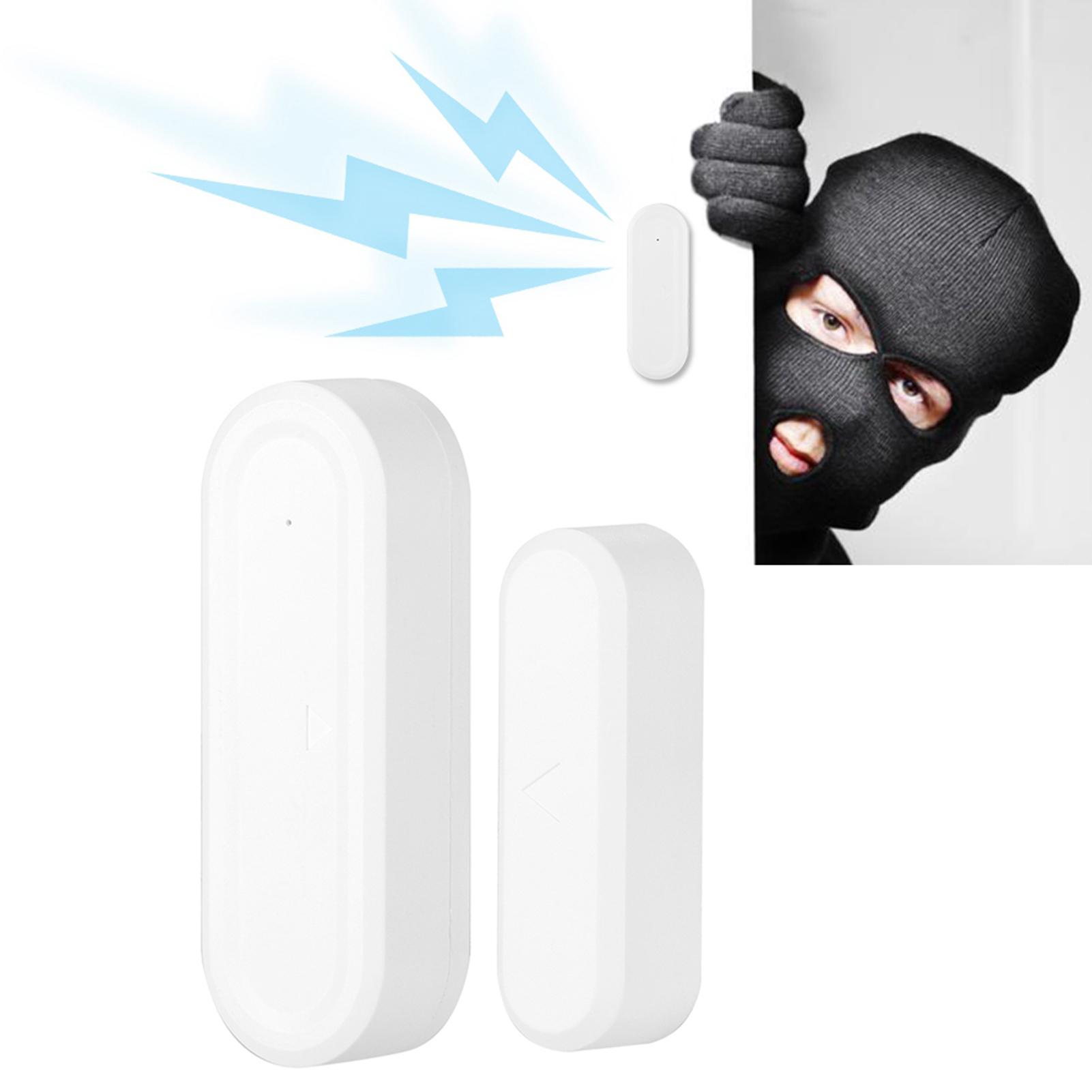 Home Smart Door Window Magnetic Sensor Detector Burglar