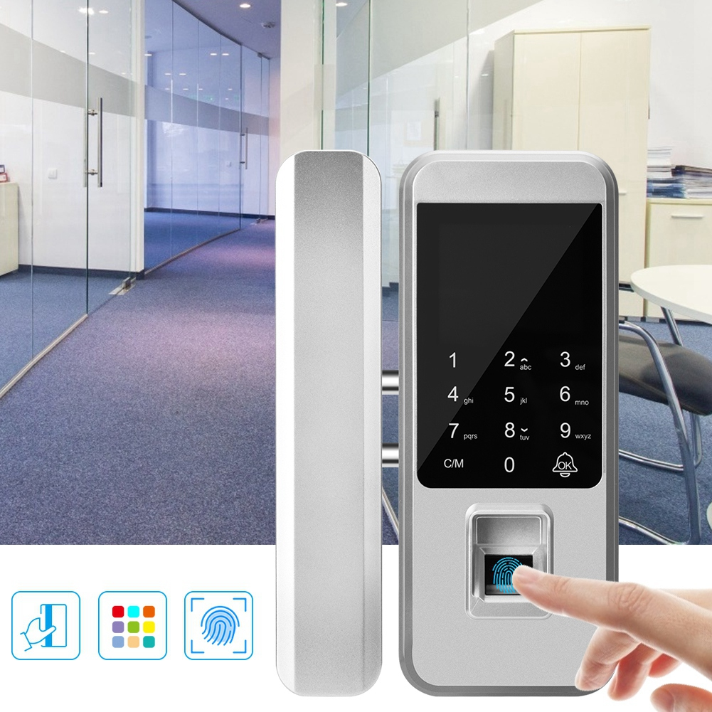 Biometric Fingerprint Home Office Glasses Door Lock