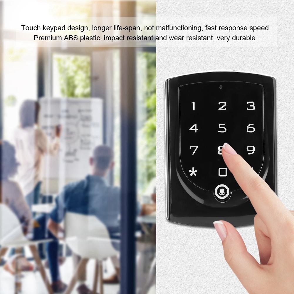 Lettore-di-controllo-accessi-porta-IC-ID-Card-Password-Tastiera-Sistema-di miniatura 15
