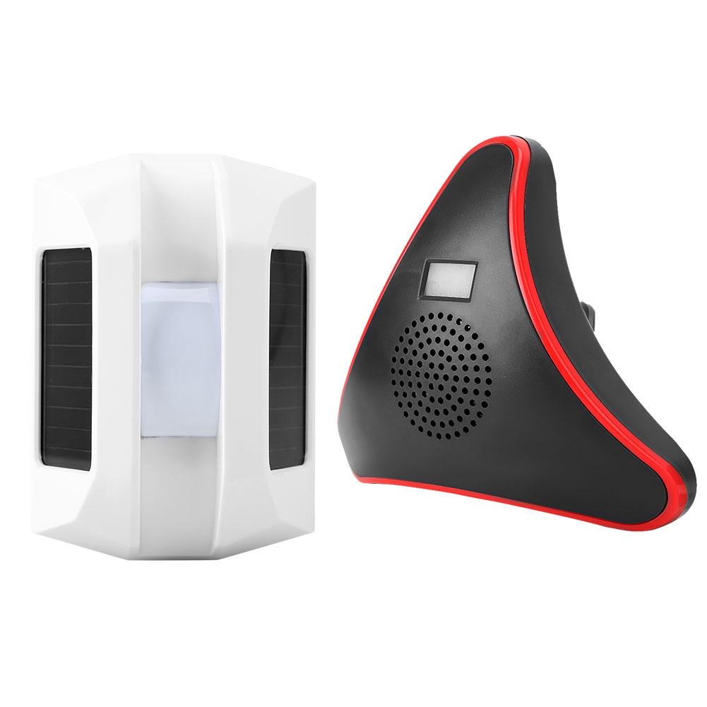 Wireless-Solar-IR-Alarm-1-2-3-Infrared-Sensor-Detector-Home-Security-System-Kit thumbnail 23