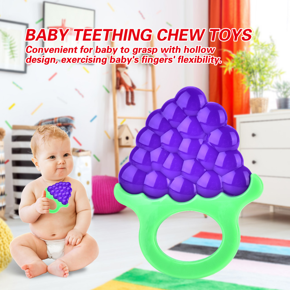 Safety-Baby-Toddler-Teether-Chew-Toy-Molar-Rod-Silicone-Soft-amp-Safe-Teeth-Stick