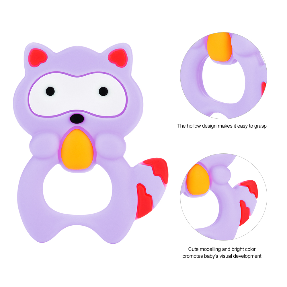 DIY Baby Doughnut Silicone Beads Teethers  Nursing Teething Ring Chew Necklace