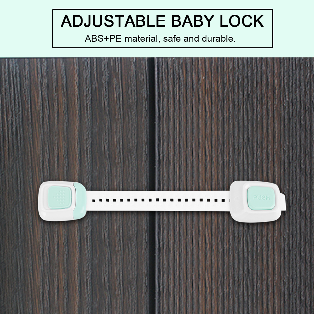 Multi-Function-Adjustable-Safety-Lock-Baby-for-Drawer-Fridge-Door-Protector 縮圖 7