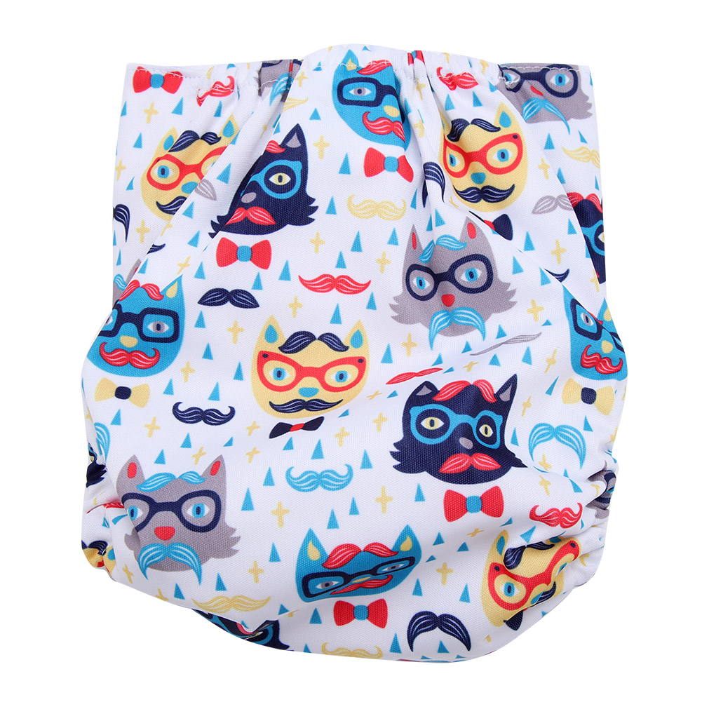 Reusable-Infant-Swim-Diaper-Washable-Pocket-Cloth-Hook-Loop-Size-Adjustable thumbnail 26