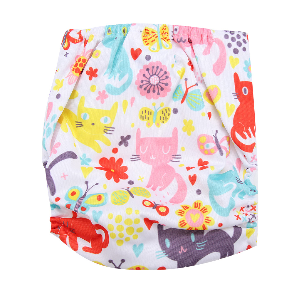 Reusable-Infant-Swim-Diaper-Washable-Pocket-Cloth-Hook-Loop-Size-Adjustable thumbnail 29