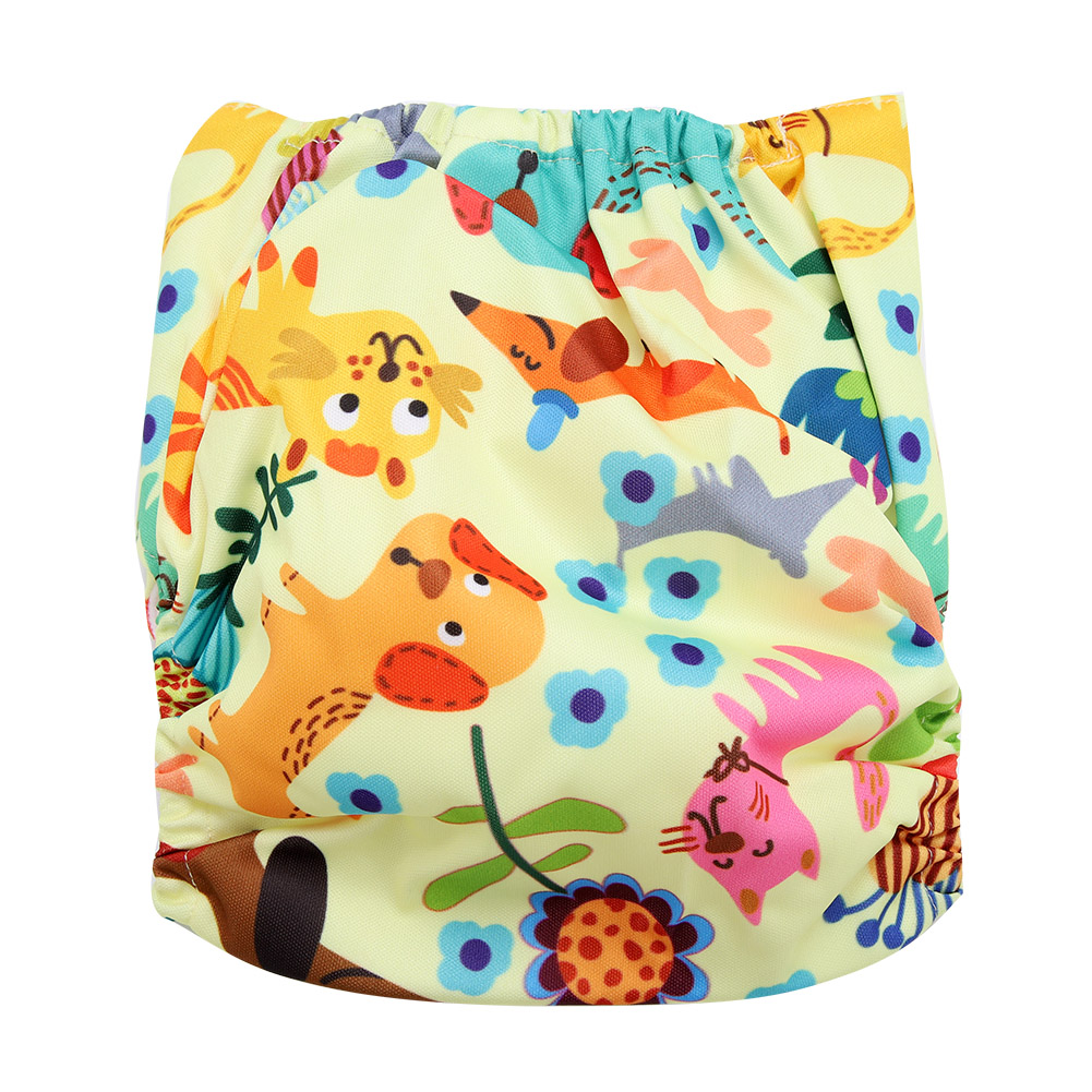 Reusable-Infant-Swim-Diaper-Washable-Pocket-Cloth-Hook-Loop-Size-Adjustable thumbnail 32