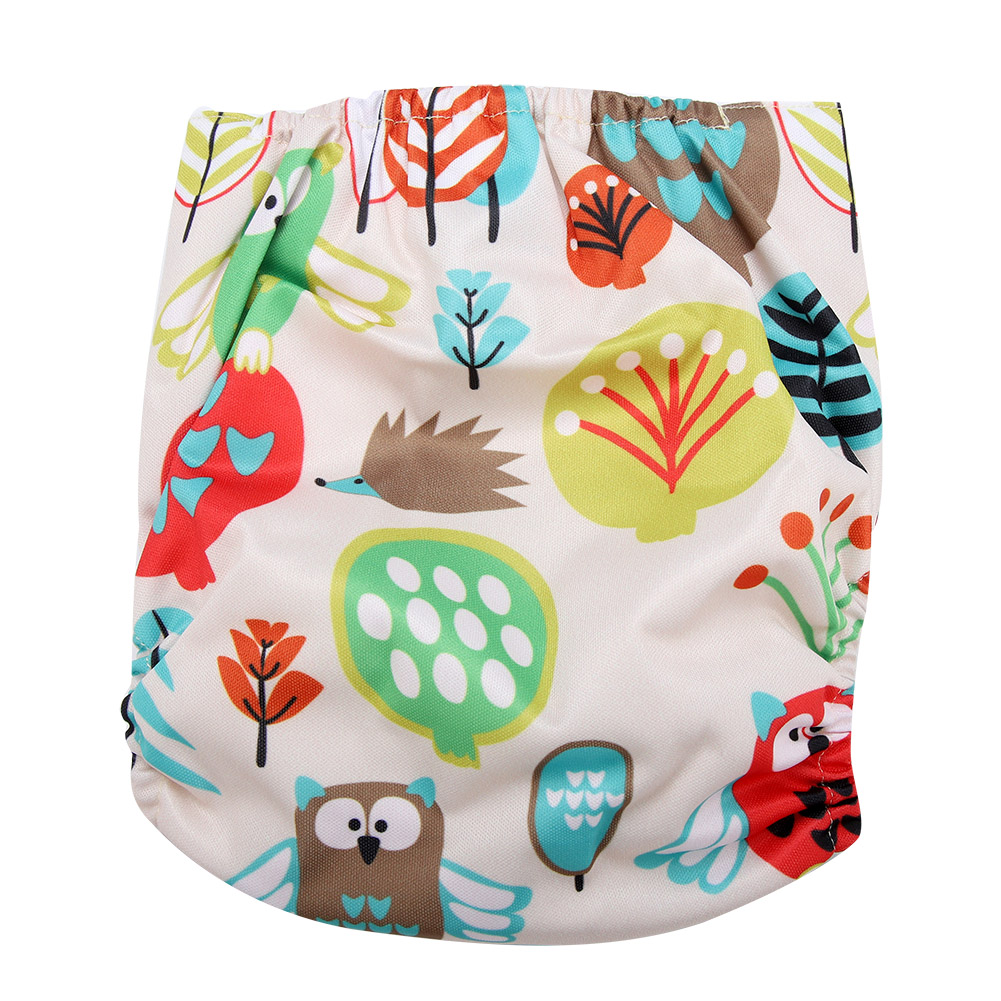 Reusable-Infant-Swim-Diaper-Washable-Pocket-Cloth-Hook-Loop-Size-Adjustable thumbnail 35