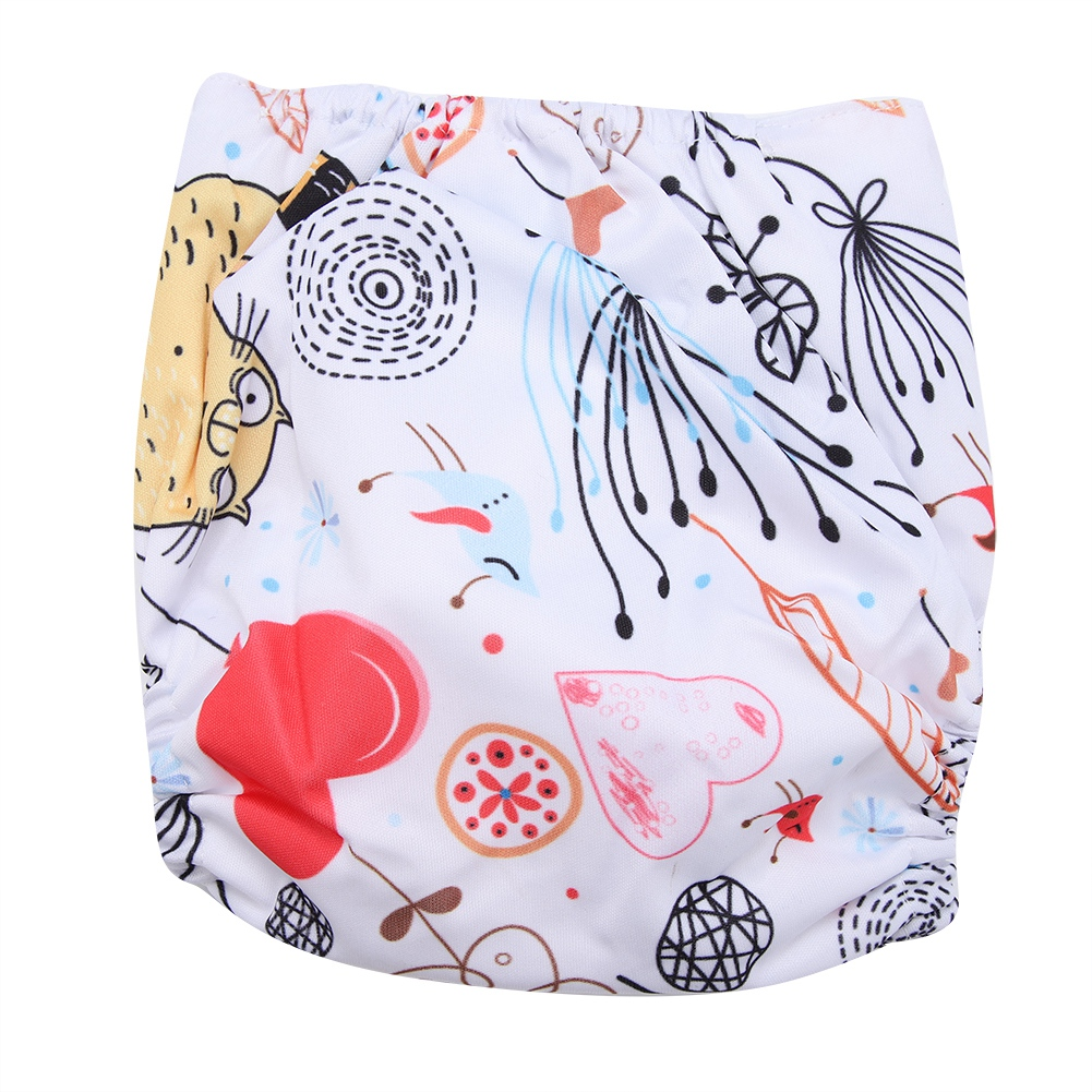 Reusable-Infant-Swim-Diaper-Washable-Pocket-Cloth-Hook-Loop-Size-Adjustable thumbnail 42