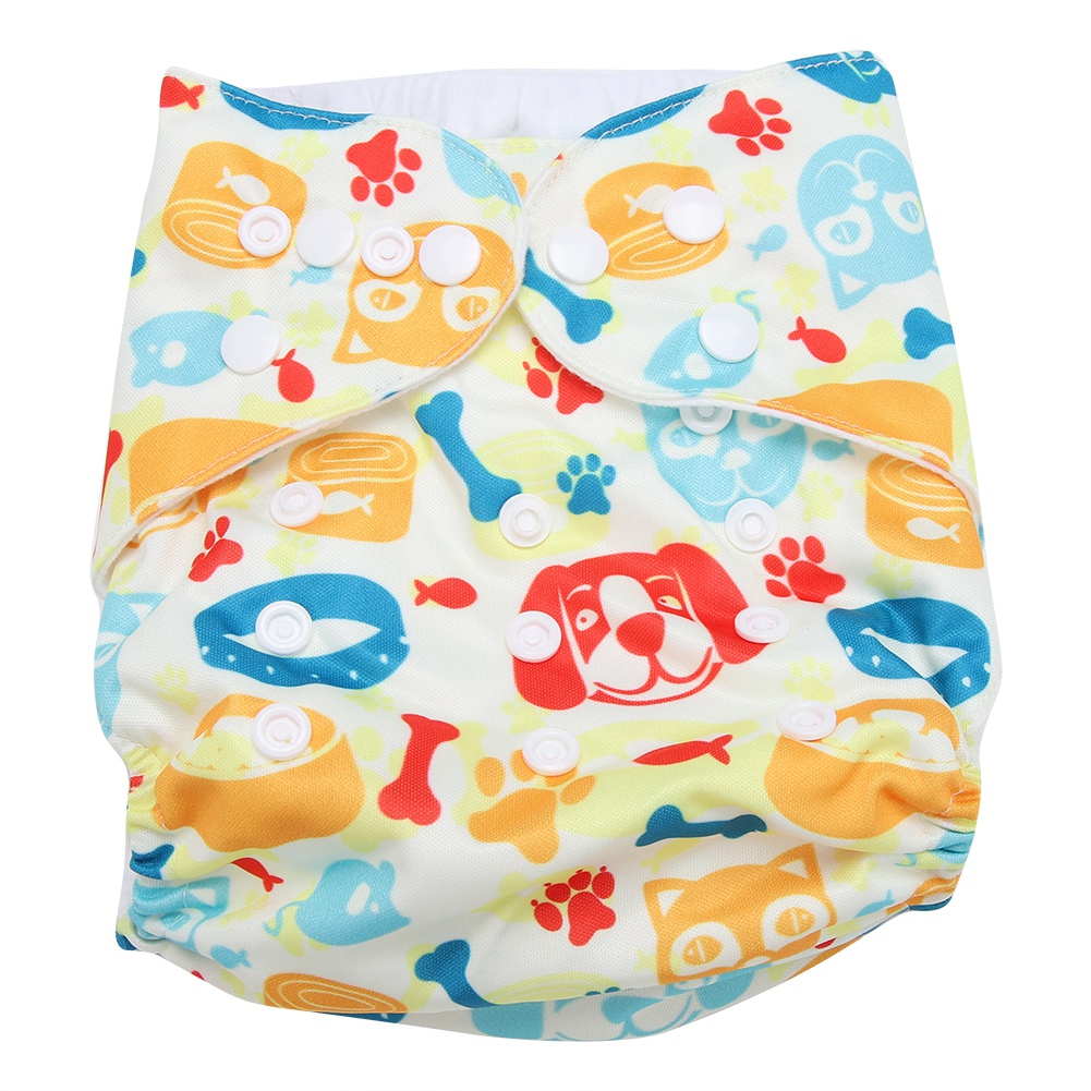 Reusable-Infant-Swim-Diaper-Washable-Pocket-Cloth-Hook-Loop-Size-Adjustable thumbnail 44