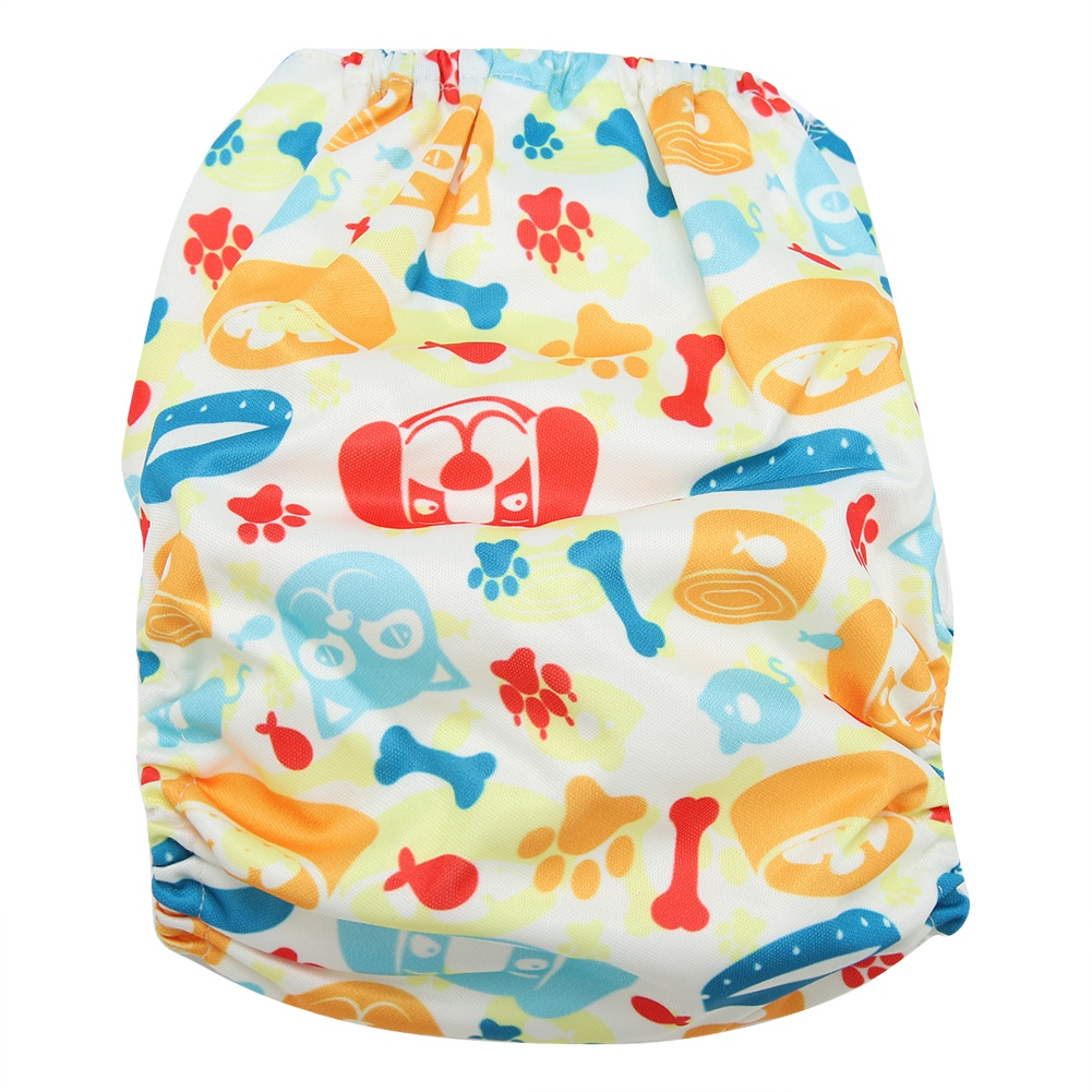 Reusable-Infant-Swim-Diaper-Washable-Pocket-Cloth-Hook-Loop-Size-Adjustable thumbnail 45