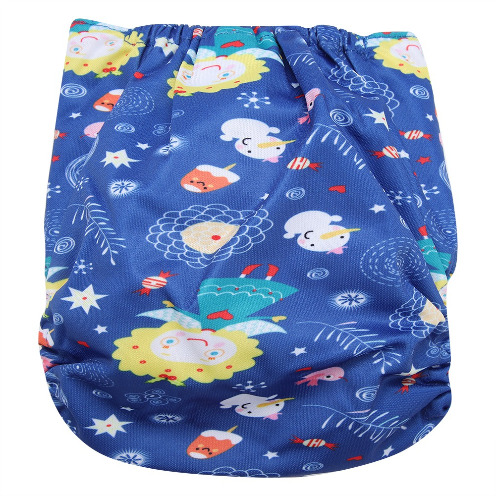 Reusable-Infant-Swim-Diaper-Washable-Pocket-Cloth-Hook-Loop-Size-Adjustable thumbnail 57