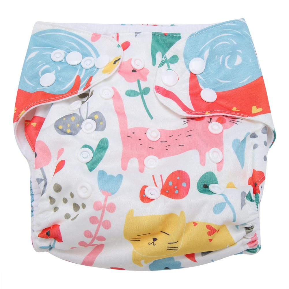 Reusable-Infant-Swim-Diaper-Washable-Pocket-Cloth-Hook-Loop-Size-Adjustable thumbnail 59