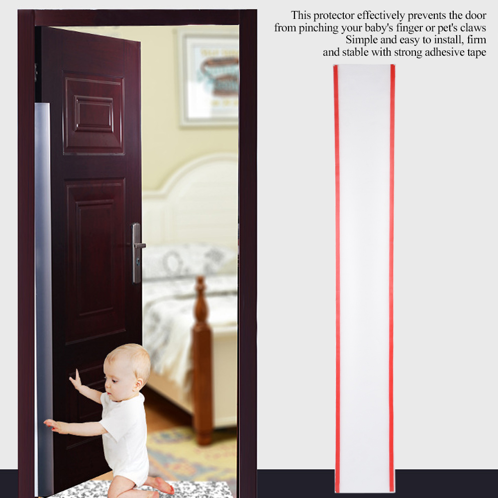 4Pcs Household Baby Child Finger Hands Protector Door Hinge Pinch Safety Stopper Prevents Finger Pinch Injuries
