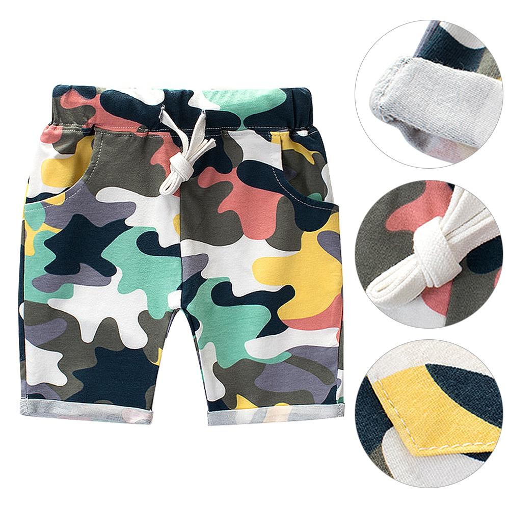 High-Quality-Summer-Boy-Camouflage-Cotton-Pants-Children-Wear-Kids-Shorts thumbnail 14