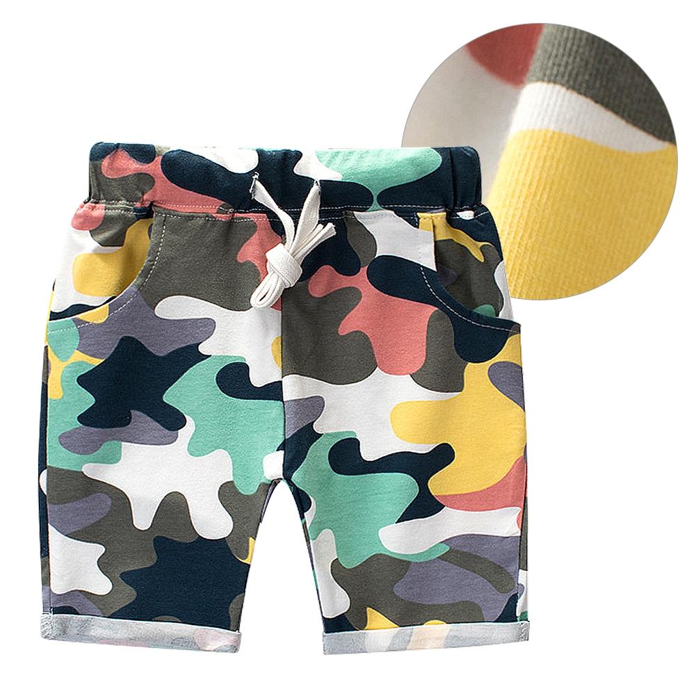 High-Quality-Summer-Boy-Camouflage-Cotton-Pants-Children-Wear-Kids-Shorts thumbnail 18