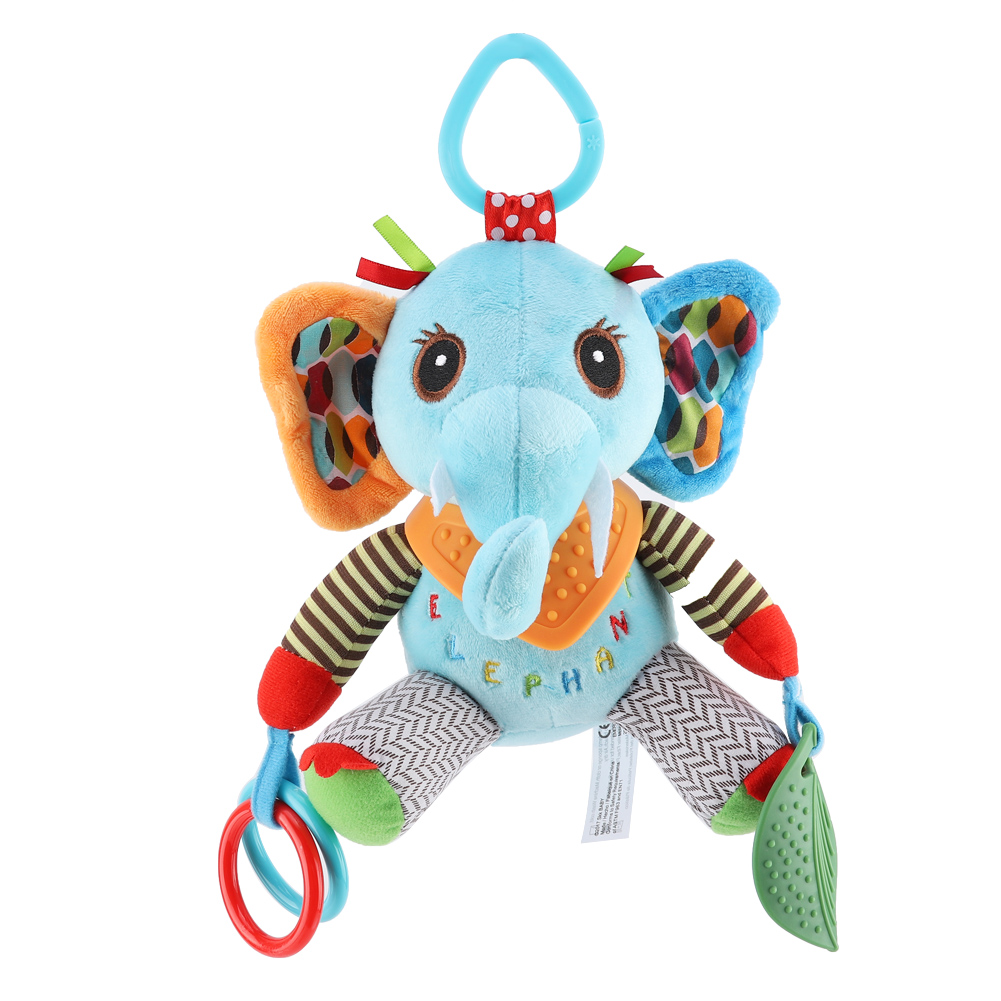 Colorful-Kids-Baby-Bed-Crib-Stroller-Cartoon-Animal-Shape-Hanging-Plush-Toy thumbnail 15