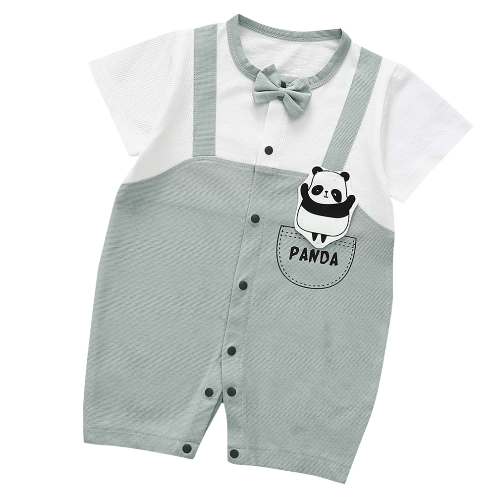 Cute-Short-Sleeves-Boys-Girls-Baby-Infant-Newborn-Jumpsuit-for-3-12-Months thumbnail 81