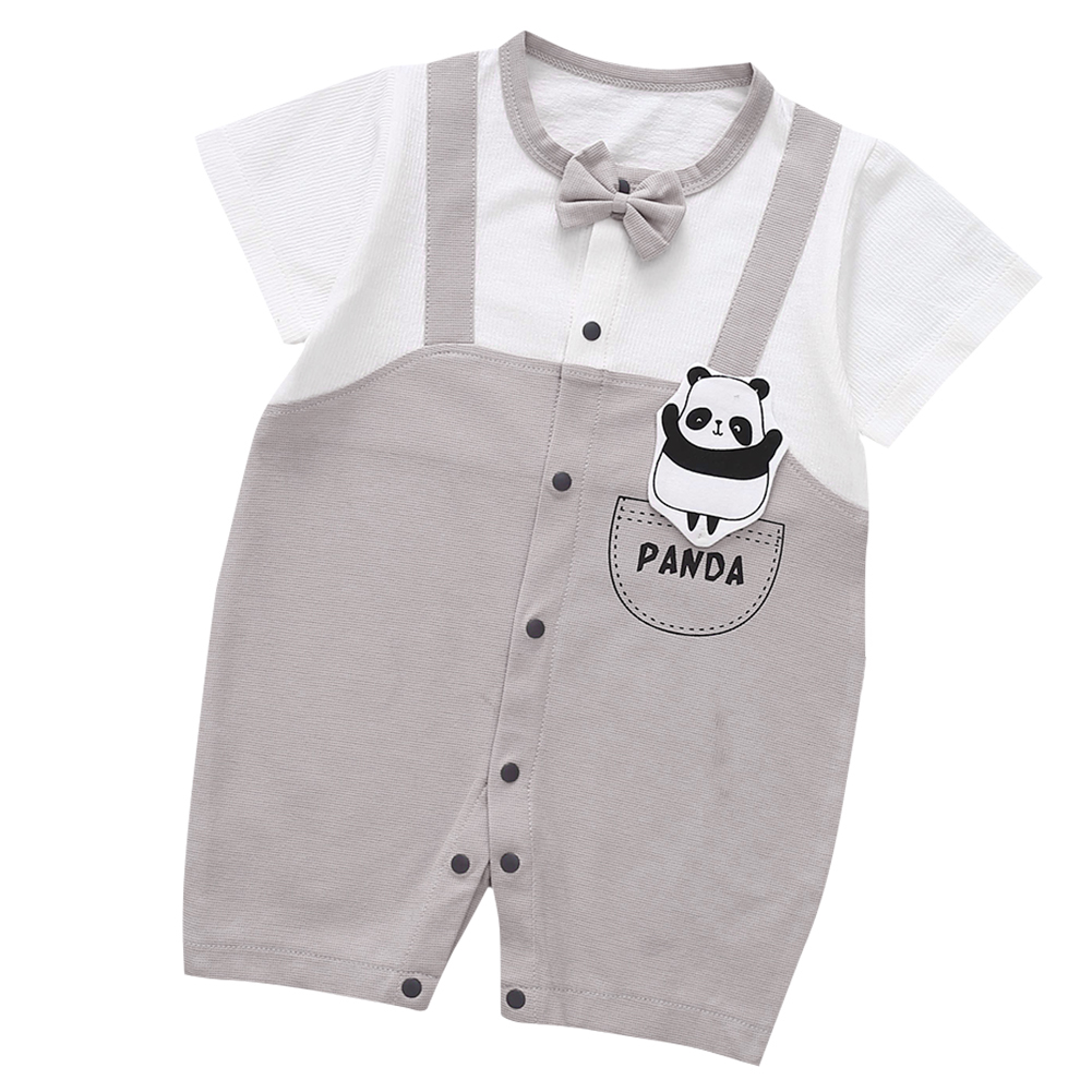 Cute-Short-Sleeves-Boys-Girls-Baby-Infant-Newborn-Jumpsuit-for-3-12-Months thumbnail 87