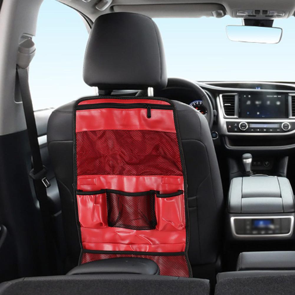 Car-Seat-Back-Organizer-Multi-Functional-Phone-Umbrella-Drink-Storage-Bag thumbnail 13