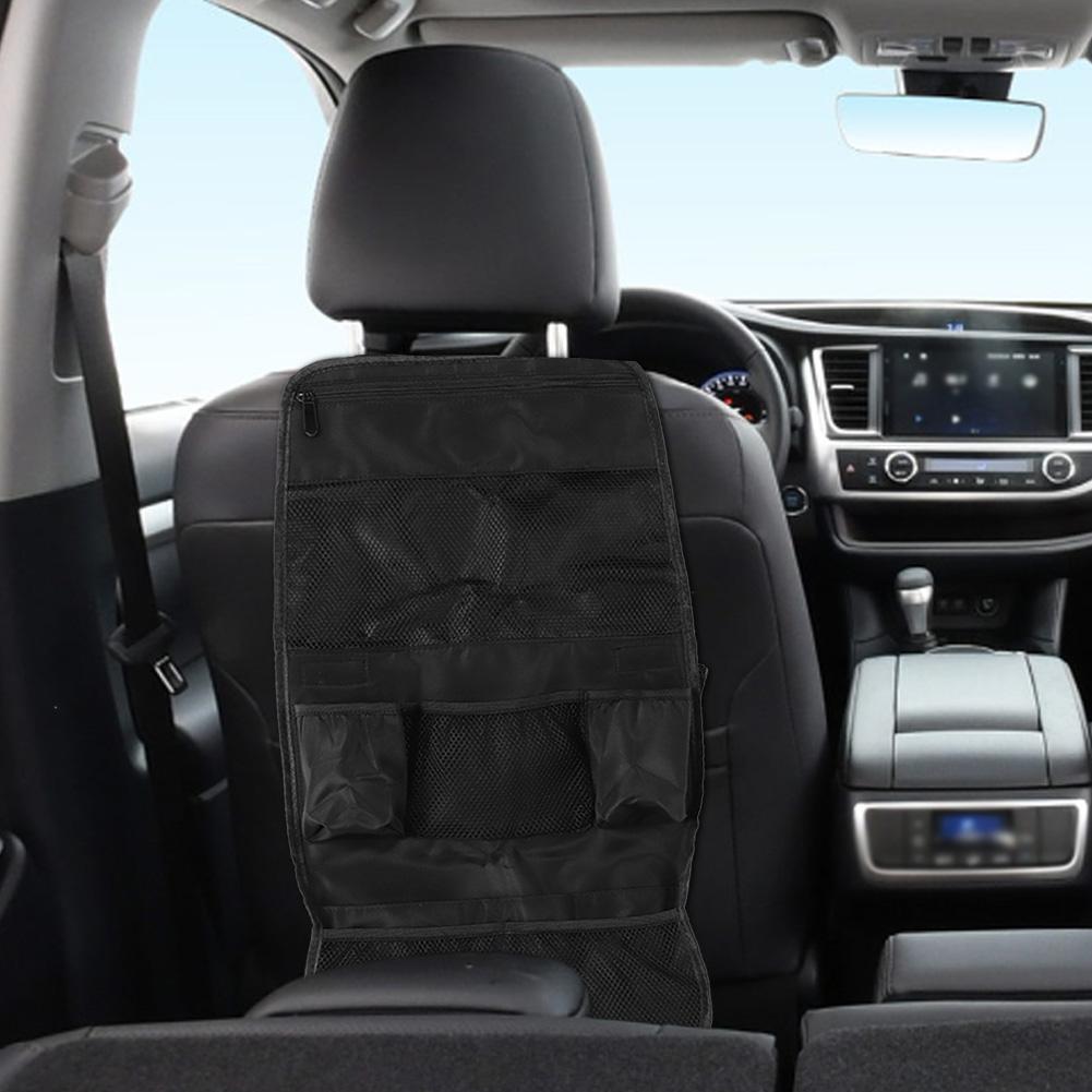Car-Seat-Back-Organizer-Multi-Functional-Phone-Umbrella-Drink-Storage-Bag thumbnail 16