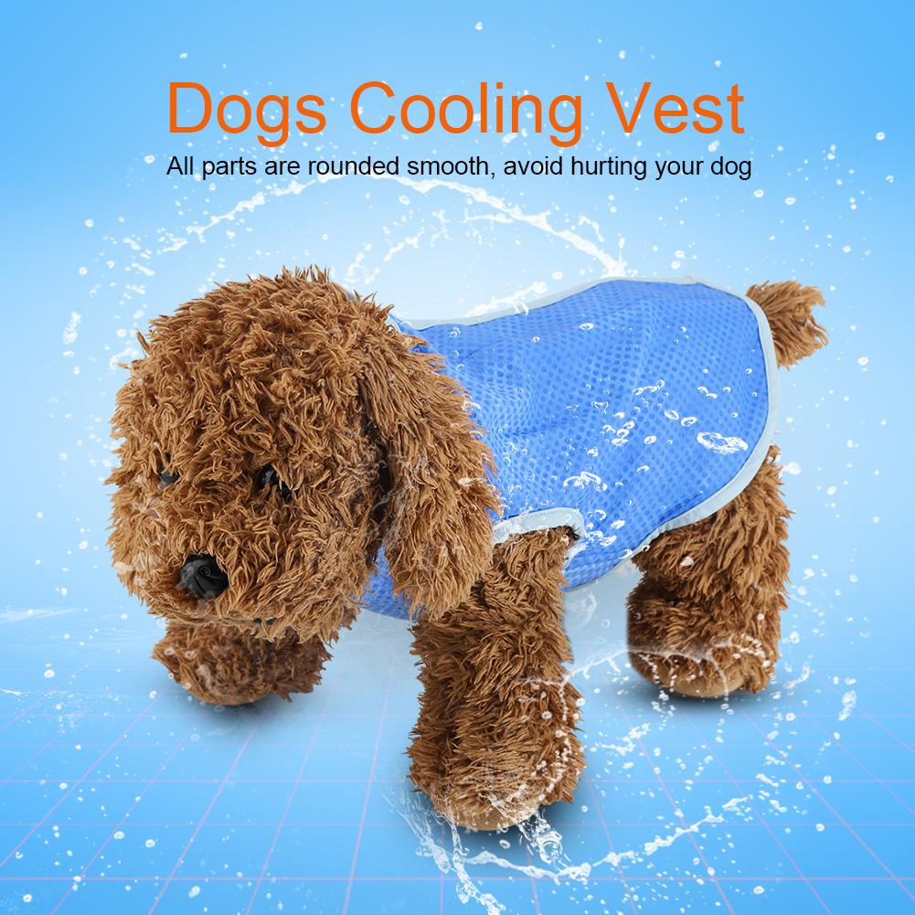 Summer-Dog-Cooling-Vest-Dog-Cooling-Harness-For-Dogs-Breathable-Pet-Mesh-Vest thumbnail 15