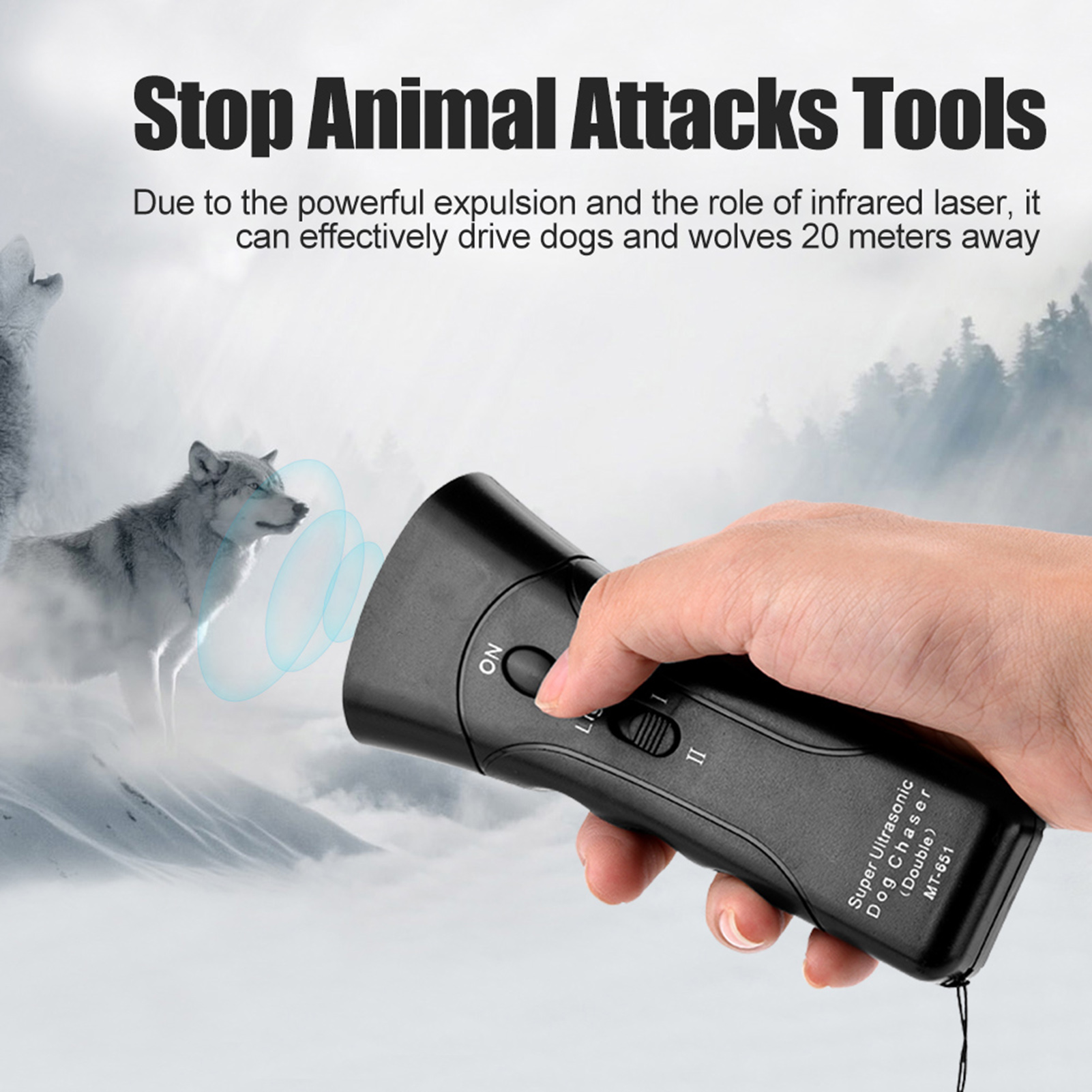 aggressive dog repellent