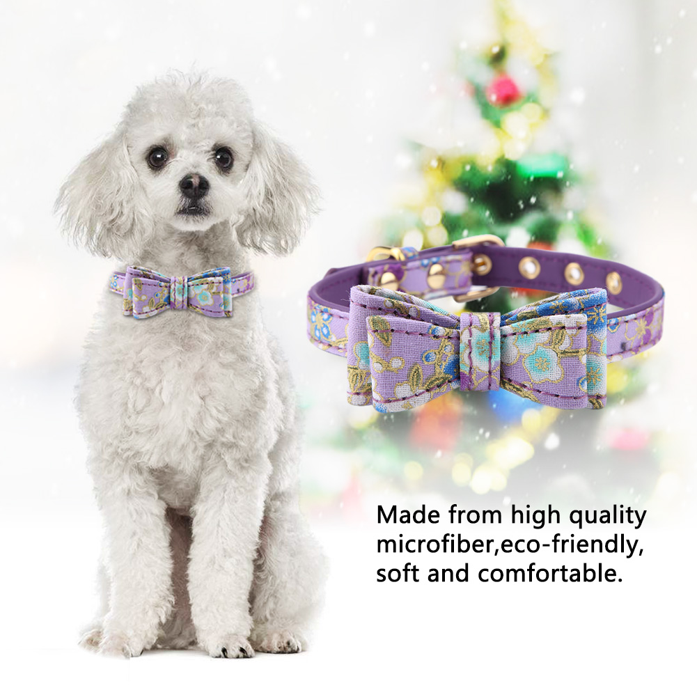 Colorful-Leather-Personalized-Engraved-Dog-Collar-Puppy-Cat-Pet-Collars-ID-Tag thumbnail 75