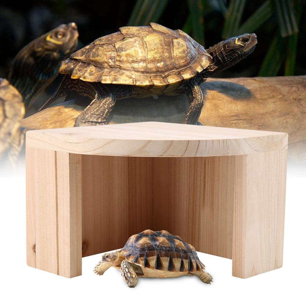 Reptile-Turtle-Climbing-Artificial-Hiding-Cave-Tank-Decor-Landscape-Ornament thumbnail 14