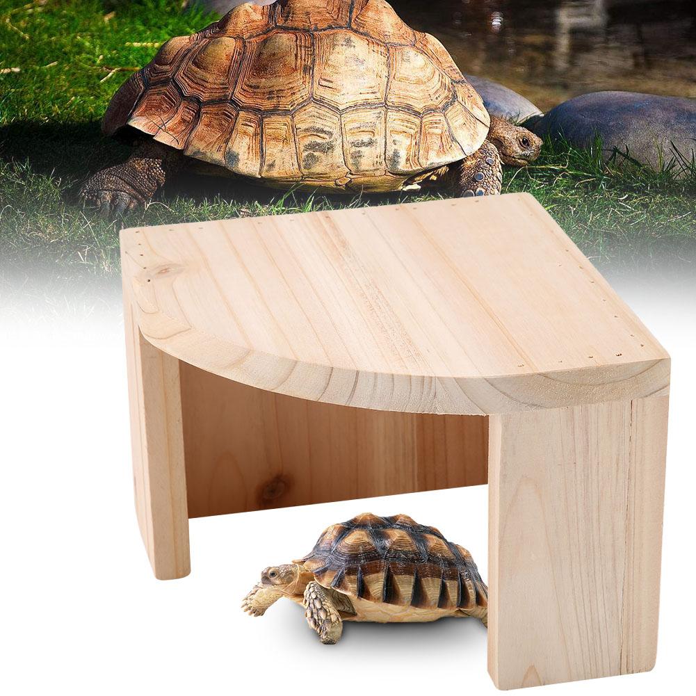 Reptile-Turtle-Climbing-Artificial-Hiding-Cave-Tank-Decor-Landscape-Ornament thumbnail 15