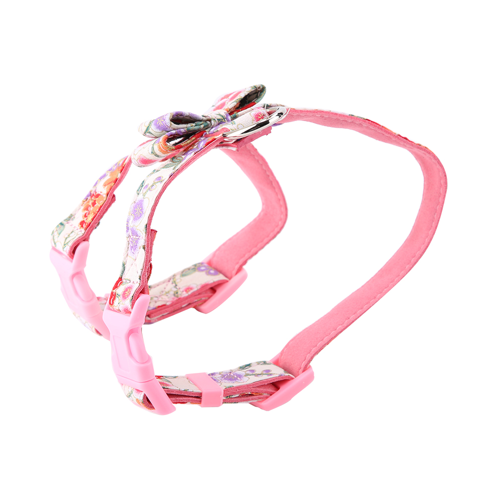 1-Dog-Harness-Bowknot-Adjustable-Soft-Bow-Tie-Puppy-Vest-Strap-Lead thumbnail 19