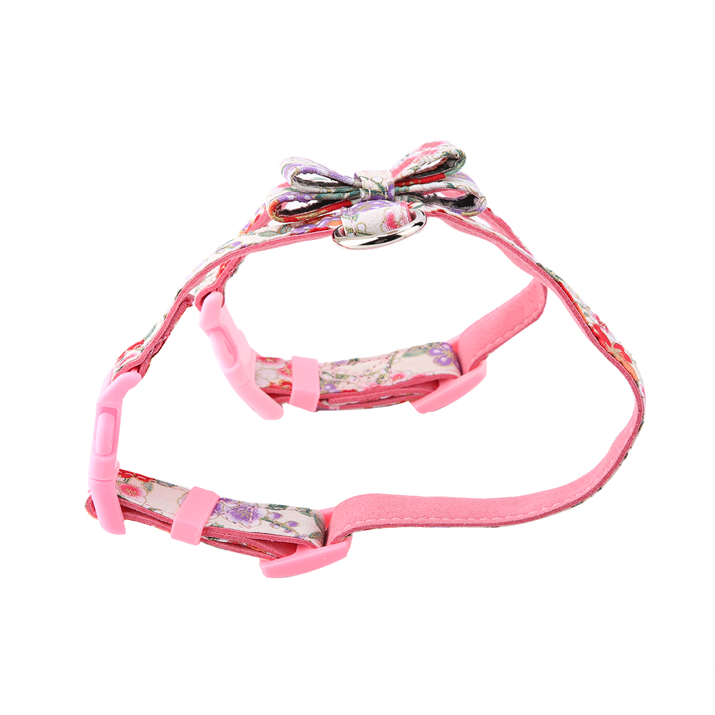 1-Dog-Harness-Bowknot-Adjustable-Soft-Bow-Tie-Puppy-Vest-Strap-Lead thumbnail 23