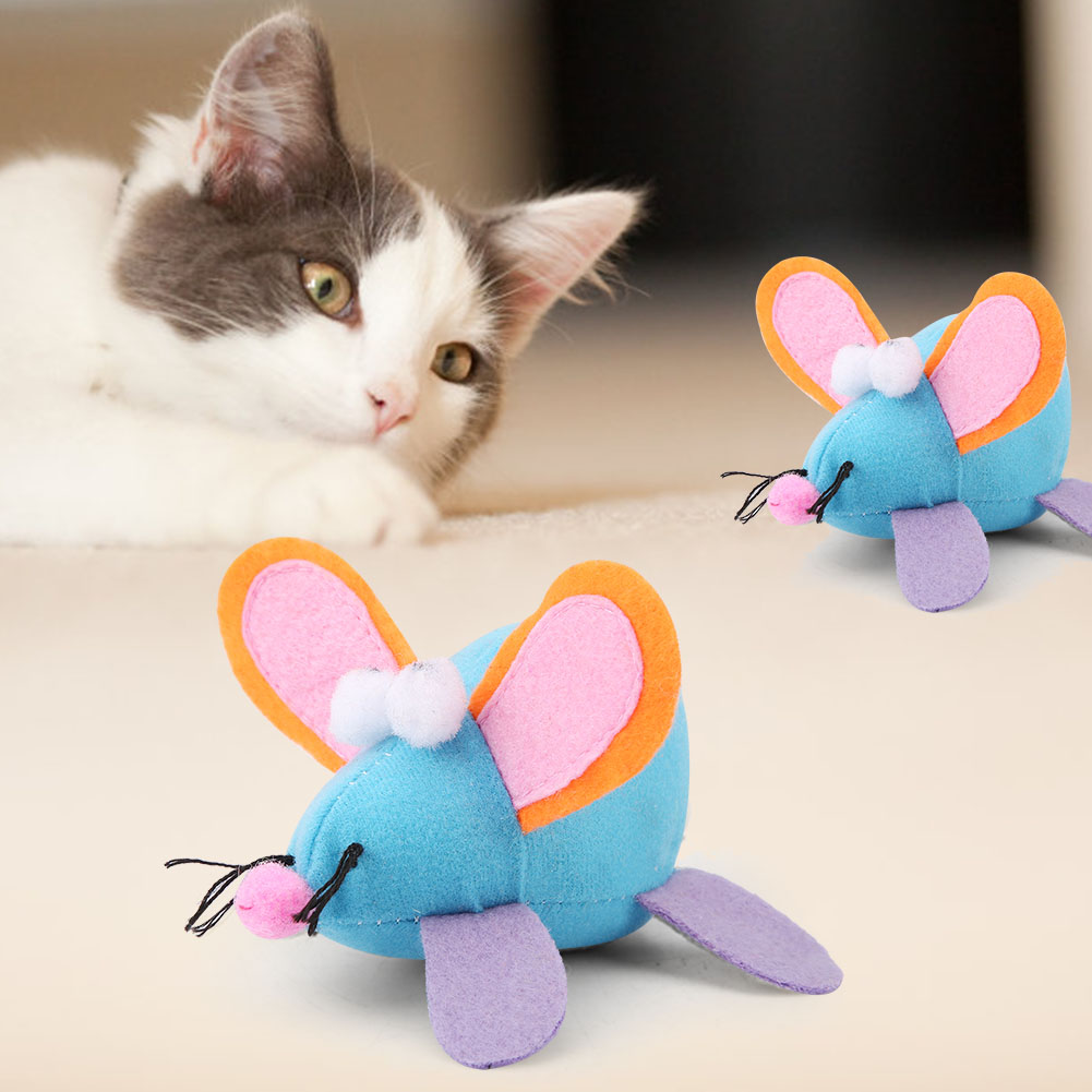 Multi-Funny-Pet-Cat-Kitten-Toy-Mouse-Teaser-Wand-Feather-Rod-Cat-Play-Toys-Lot miniature 15