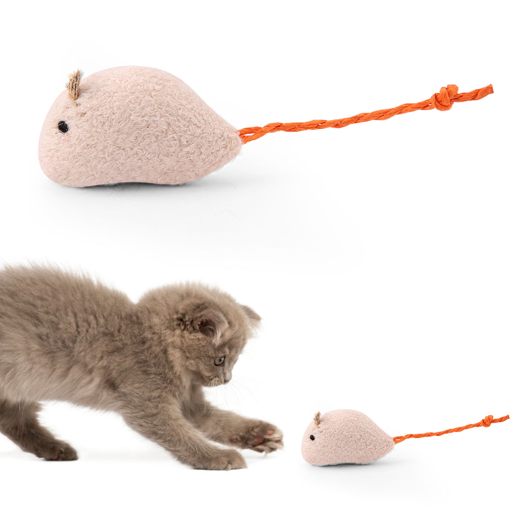 Multi-Funny-Pet-Cat-Kitten-Toy-Mouse-Teaser-Wand-Feather-Rod-Cat-Play-Toys-Lot miniature 32
