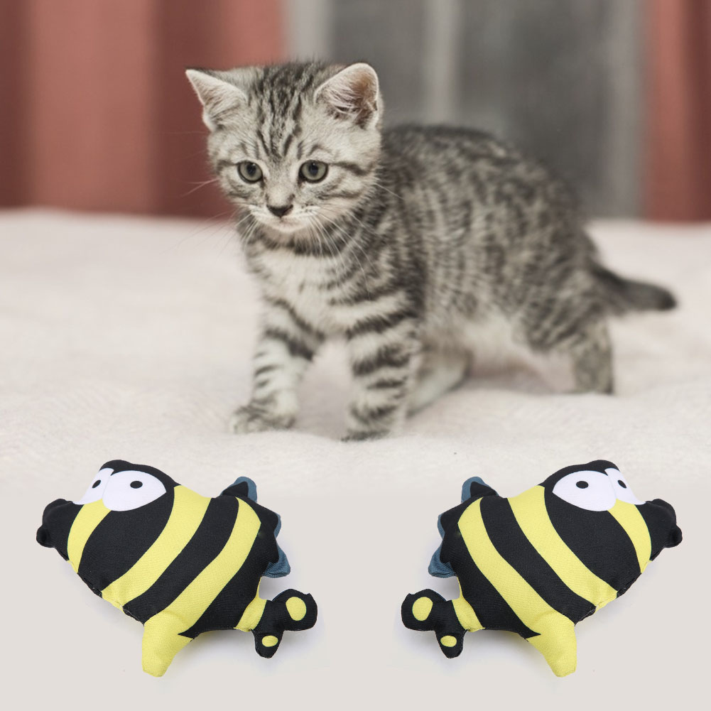 Multi-Funny-Pet-Cat-Kitten-Toy-Mouse-Teaser-Wand-Feather-Rod-Cat-Play-Toys-Lot miniature 36
