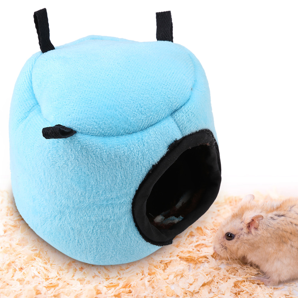 Super-Small-Pets-Winter-Warm-Cage-Bed-House-Toys-For-Hamster-Guinea-Pig-Mouse thumbnail 17