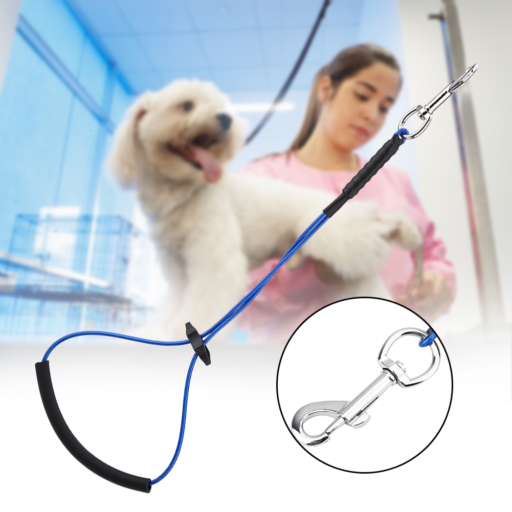 2019-Pet-Noose-Loop-Lock-Clip-Rope-Lead-For-Grooming-Table-Arm-Bath-Adjustable thumbnail 14