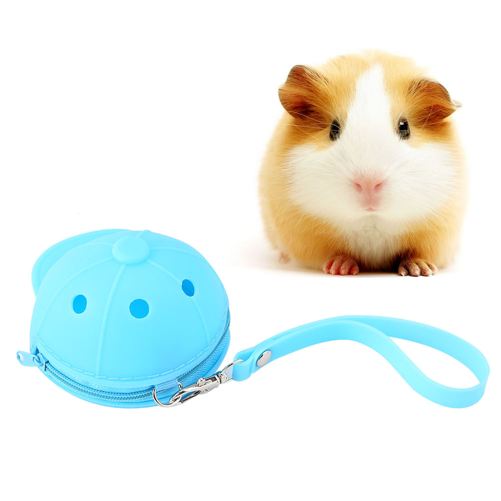 Hot-Pet-Travel-Bag-Outdoor-Portable-Hamster-Carrier-Rat-Small-Animal-Carrier thumbnail 21