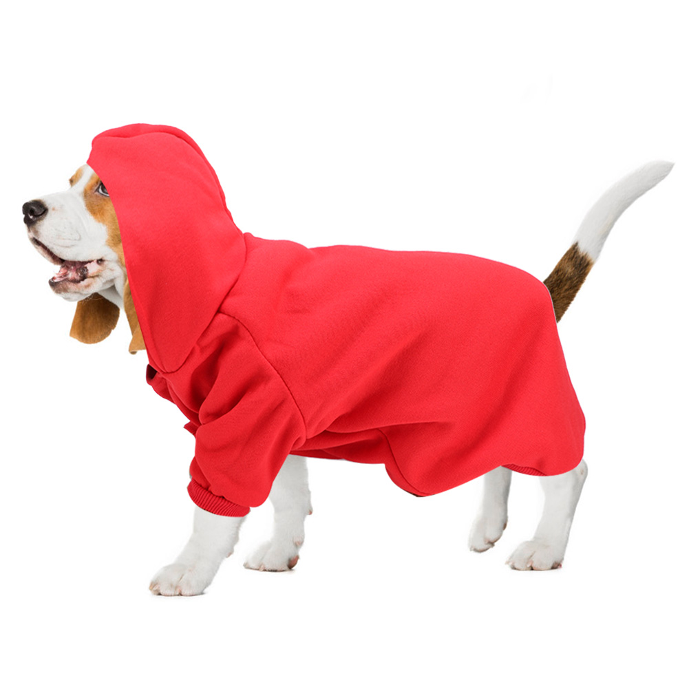 Pet-Dog-Puppy-Warm-Winter-Soft-Sweater-Hoodie-Jumpsuit-Coat-Clothes-Outwear thumbnail 15