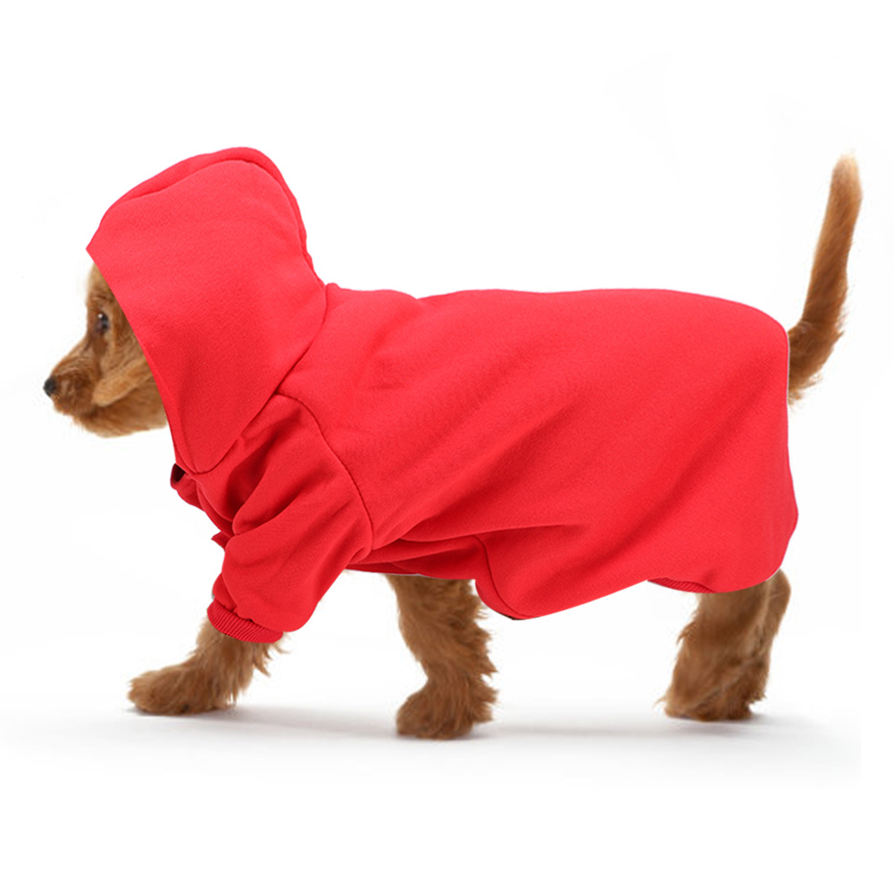 Pet-Dog-Puppy-Warm-Winter-Soft-Sweater-Hoodie-Jumpsuit-Coat-Clothes-Outwear thumbnail 26